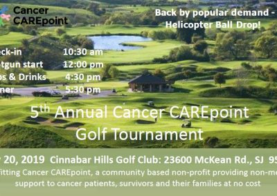 5th Annual Cancer CAREpoint Golf Tournament