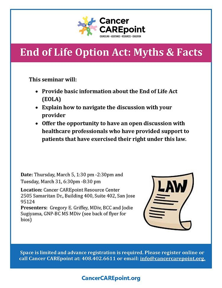 End of Life Option Act