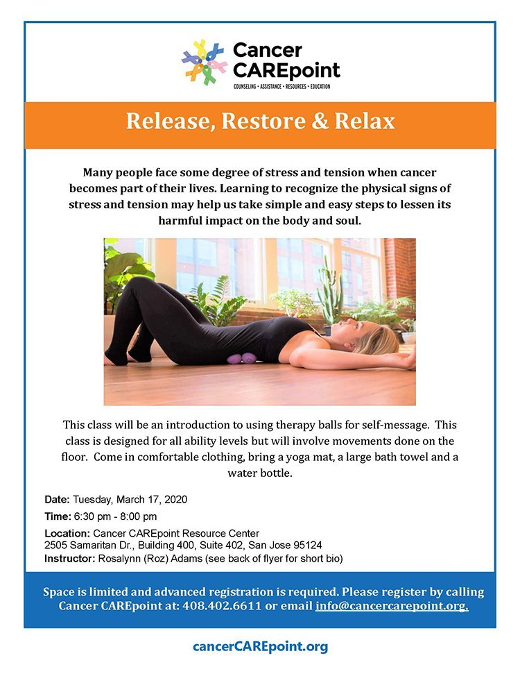 Release, Restore & Relax